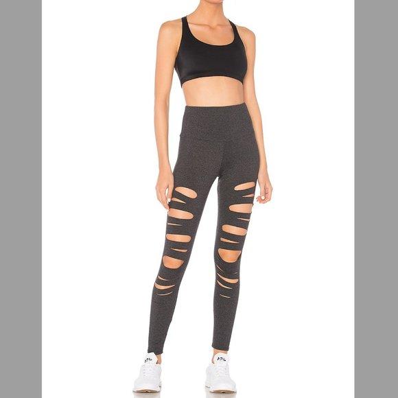 Worn Once Onzie Shred High Rise Legging in Slate